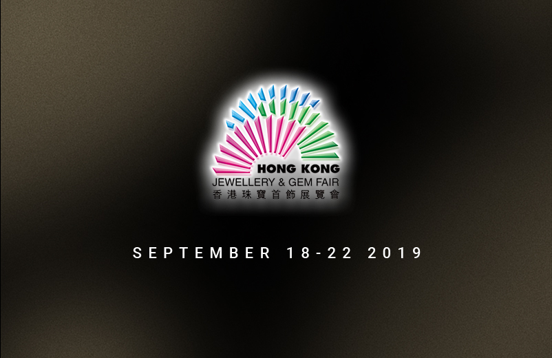 Hong Kong International Jewellery Show, September 18-22, 2019