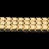 Catena Cubo Multifile Diamantata Semilavorati in Oro, Argento e Bronzo per Gioielli