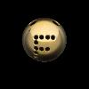 Palline a 2 Fori 45° con disegno Semilavorati in Oro, Argento e Bronzo per Gioielli