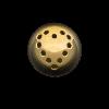 Palline a Fori Piccoli con disegno Semilavorati in Oro, Argento e Bronzo per Gioielli