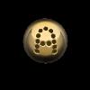 Palline a 1 Foro con disegno Semilavorati in Oro, Argento e Bronzo per Gioielli